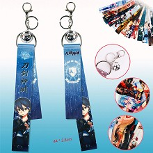 Sword Art Online anime key chain