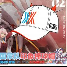 DARLING in the FRANXX 02 cosplay cap