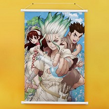 Dr.STONE anime wall scroll