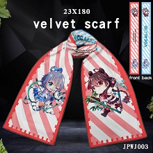 VOCALOID Luo Tianyi anime velvet scarf