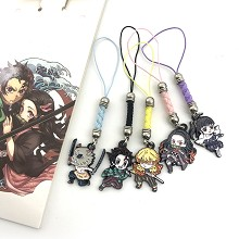 Demon Slayer anime phone straps a set
