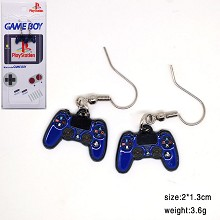 Nintendo earrings a pair