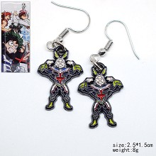 My Hero Academia anime earrings a pair