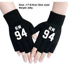 BTS star cotton gloves a pair