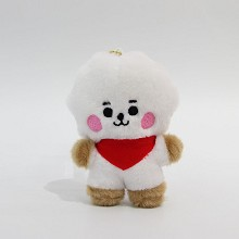 4inches BTS star plush dolls set(10pcs a set)