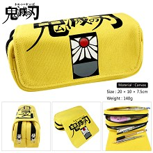 Demon Slayer anime canvas pen bag pencil bag