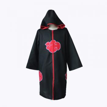Naruto anime cosplay cloth cloak hoodie
