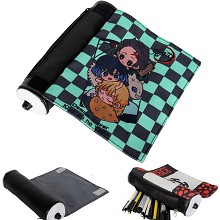 Demon Slayer canvas anime pen bag pencil bag