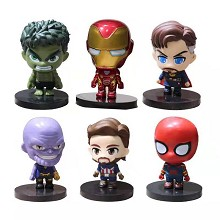 The Avengers Iron man figures set(6pcs a set)