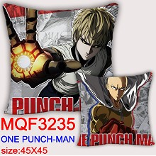 One Punch Man anime two-sided pillow
