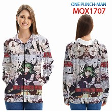 One Punch Man anime long sleeve hoodie cloth