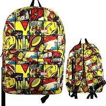 The Avengers Iron Man backpack bag