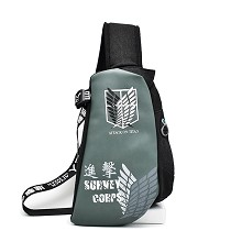 Attack on Titan anime chest pack bag