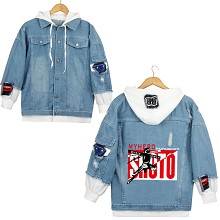 My Hero Academia anime fake two pieces denim jacke...