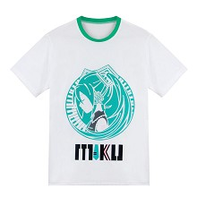 Hatsune Miku anime cotton t-shirt