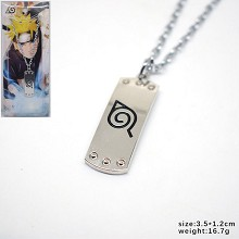 Naturo anime necklace