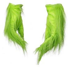 The Grinch cosplay child gloves a pair