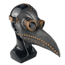 Plague Doctor cosplay latex mask