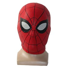 Spider Man cosplay latex mask