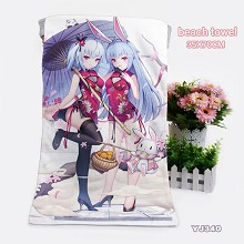 Bilibili anime beach towel bath towel