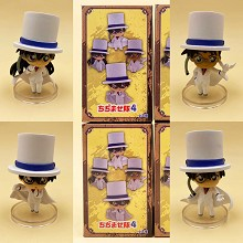 Detective conan anime figures set(4pcs a set)