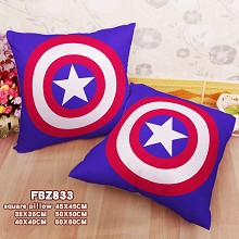 Captain America two-sided pillow