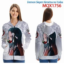 Demon Slayer anime long sleeve hoodie cloth