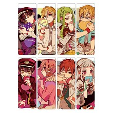 Toilet Bound Hanako kun anime pvc bookmarks set(5s...