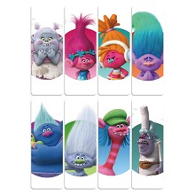 Trolls anime pvc bookmarks set(5set)