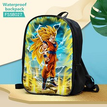 Dragon Ball anime waterproof backpack bag