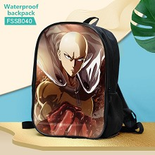 One Punch Man anime waterproof backpack bag