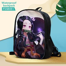 Demon Slayer anime waterproof backpack bag