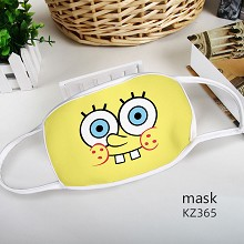 Spongebob anime trendy mask
