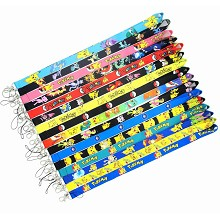 Pokemon neck strap Lanyards for keys ID card gym p...