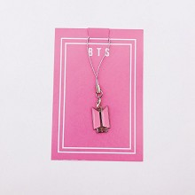 BTS star phone strap