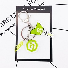 GOT7 star acrylic key chain