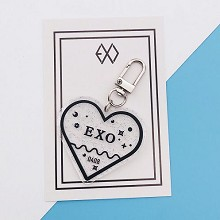 EXO star acrylic key chain
