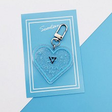 SEVENTEEN star acrylic key chain