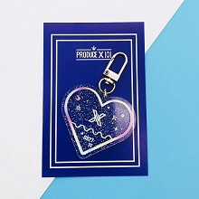 Produce X101 star acrylic key chain