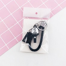 wanna one star key chain