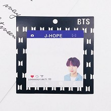 BTS J-HPOE star Memo Pad Notes Memo Sticker Pape