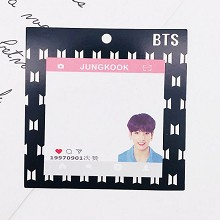 BTS JUNGKOOK star Memo Pad Notes Memo Sticker Pape