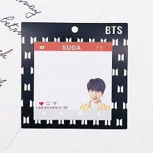 BTS SUGA star Memo Pad Notes Memo Sticker Pape