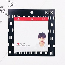 BTS V star Memo Pad Notes Memo Sticker Pape
