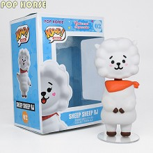 Funko POP Horse BTS sheep RJ figure