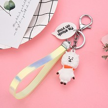 BTS star figure doll pendant key chain