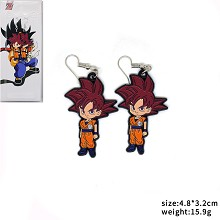 Dragon Ball Son Goku anime earrings a pair