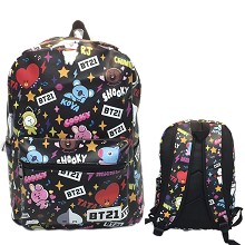 BTS BT21 star backpack bag
