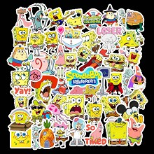 Spongebob anime waterproof stickers set(50pcs a se...