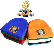 Dragon Ball Son Goku anime straw hat knitted hat